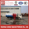 Dongfeng Hydraulic Lift Garbage Truck Hang Barrel 6