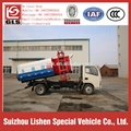Dongfeng Hydraulic Lift Garbage Truck Hang Barrel 5