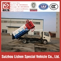 Dongfeng Hydraulic Lift Garbage Truck Hang Barrel 4