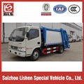 DONGFENG GARBAGE COMPRESSOR TRUCK 4M3 5