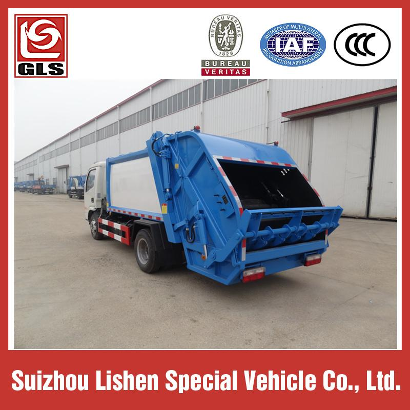 DONGFENG GARBAGE COMPRESSOR TRUCK 4M3 3