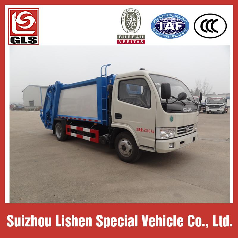 DONGFENG GARBAGE COMPRESSOR TRUCK 4M3 2