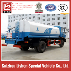Dongfeng 12000liters water tanker truck