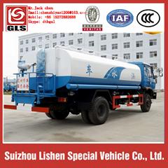 Dongfeng 12000liters water tanker truck water tanker ship