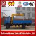 dump truck with crane