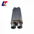 Stainless steel exhaust car muffler
