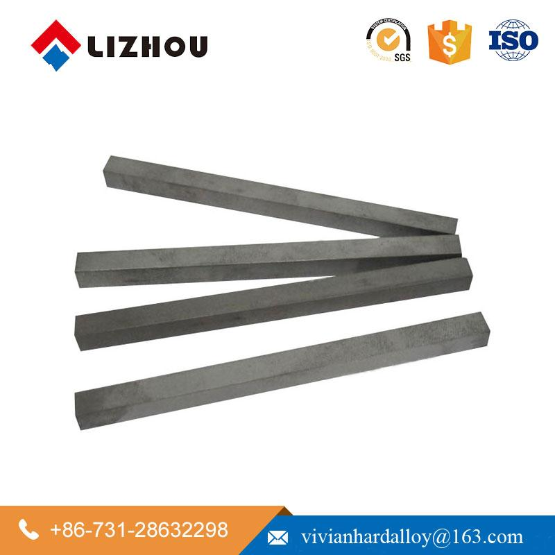 YG6 YG8 Cemented Tungsten Carbide Square Flat Bar 2
