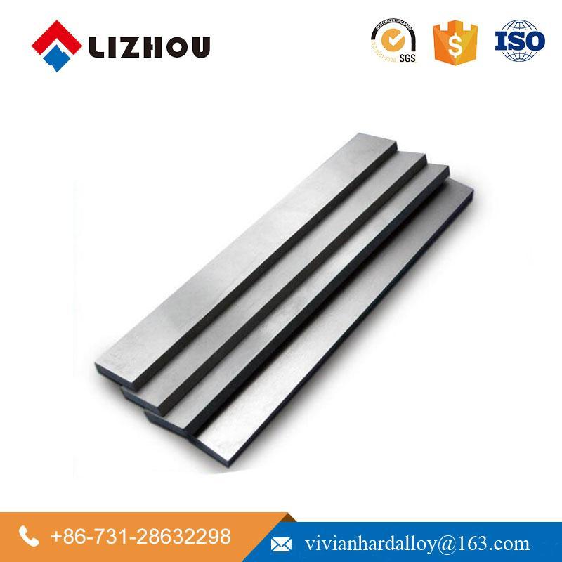 YG6 YG8 Cemented Tungsten Carbide Square Flat Bar 3