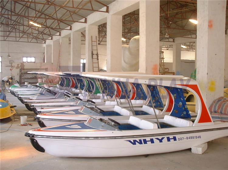 Yehua 4-Person Electric Yacht Amusement Equipment Outdoot 1
