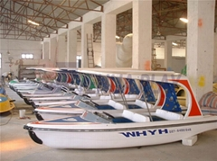 Yehua 4-Person Electric Yacht Amusement Equipment Outdoot