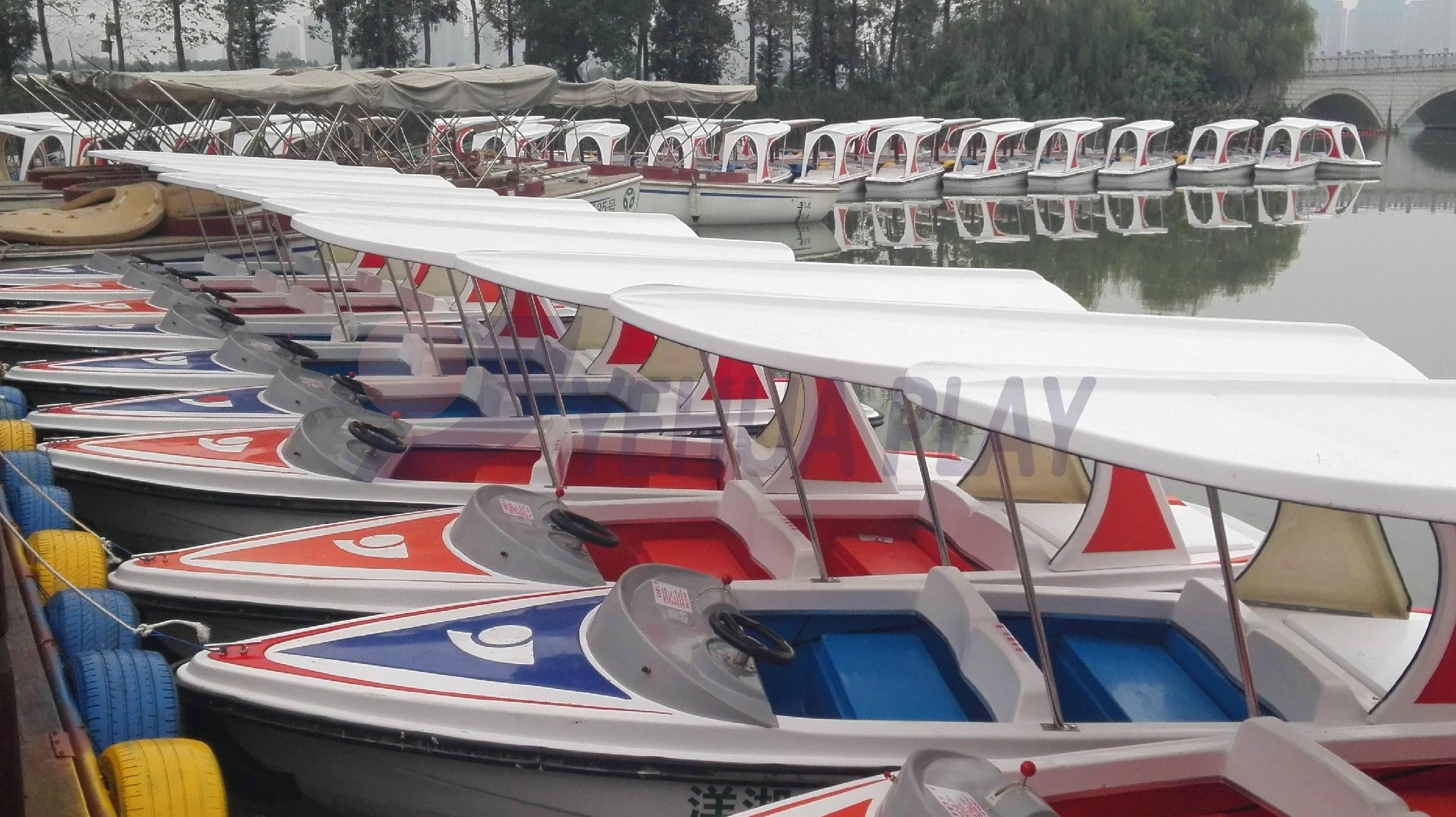 Yehua 4-Person Electric Yacht Amusement Equipment Outdoot 4