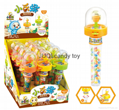 Plastic Material Basketball Toy with Candy Shantou Toys Factory