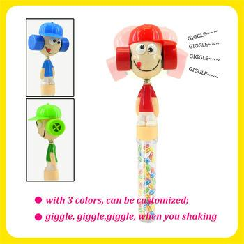 Lovely KID head Wiggle and Giggle Sweet Candy cartoon Toys 2