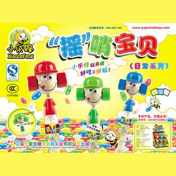 Lovely KID head Wiggle and Giggle Sweet Candy cartoon Toys 3