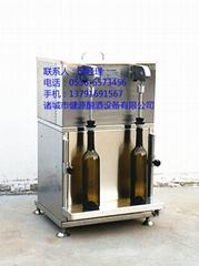 自動定量紅酒灌裝機