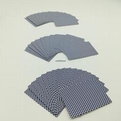 批发定制的中国中华蓝芯赌场卡纸扑克纸牌游戏卡