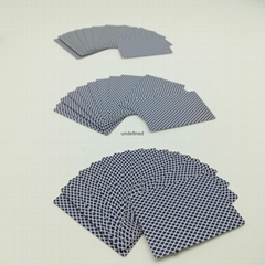Wholesale Customised Chinese Bluecore Casino Cardstock Paper Poker Card Games