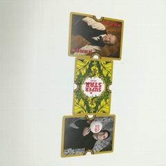 超级好的300gsm C2S纸广告扑克牌供促销礼品