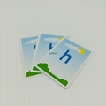 CMYK Children Alphabet Simple letter Learning Cards To learn 5