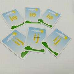 CMYK Children Alphabet Simple letter