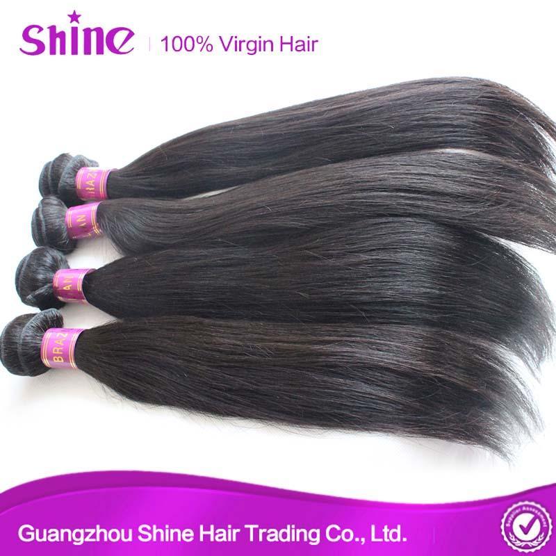 High Quality 9a One Donor Brazilian Raw Virgin Human Hair 5