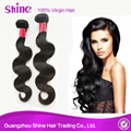 Virgin Peruvian Human Hair Body Wave With Lace Front 5