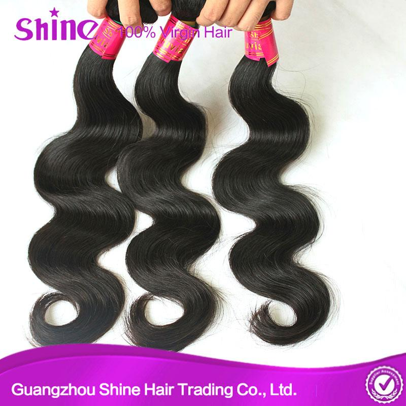 Virgin Peruvian Human Hair Body Wave With Lace Front 1