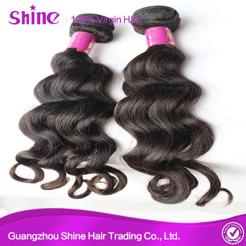 Unprocessed Remy Loose Wave Virgin Hair Weave 5