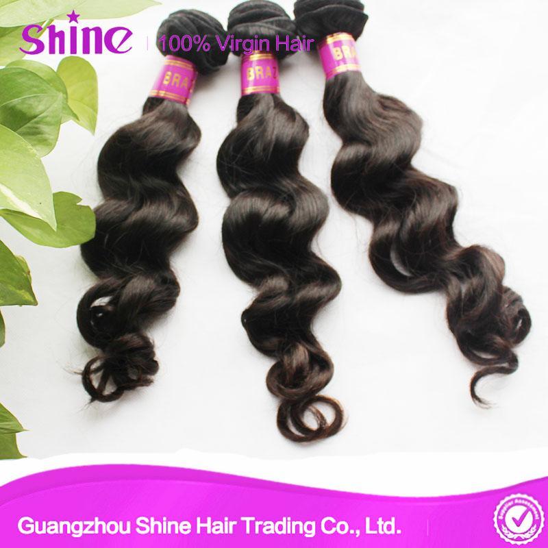 Unprocessed Remy Loose Wave Virgin Hair Weave 3