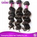 Unprocessed Remy Loose Wave Virgin Hair Weave 2