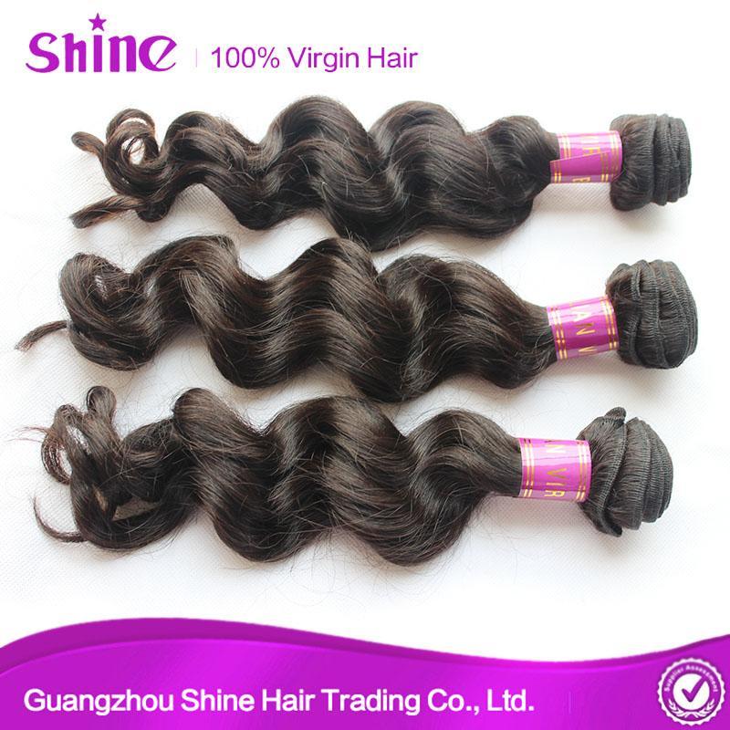 Unprocessed Remy Loose Wave Virgin Hair Weave 1
