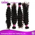 Brazilian 8a Grade Human Mink Virgin Deep Wave Hair 3