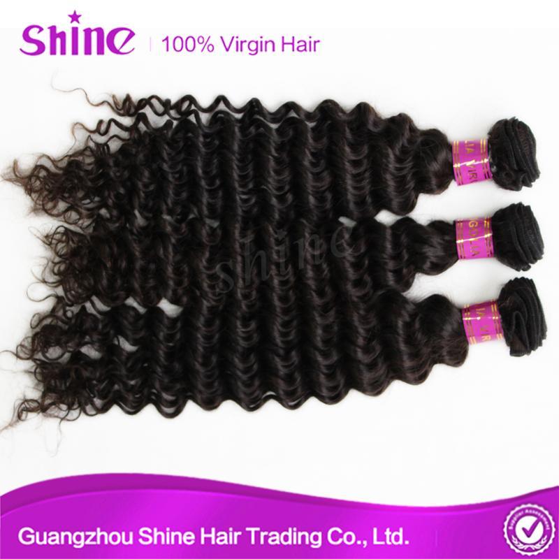 Brazilian 8a Grade Human Mink Virgin Deep Wave Hair 1