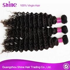 Brazilian 8a Grade Human Mink Virgin Deep Wave Hair