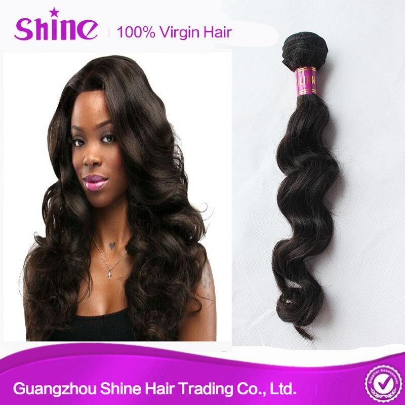 Brazilian Loose Wave Bundles Hair Weave Sale in Mozambique 5