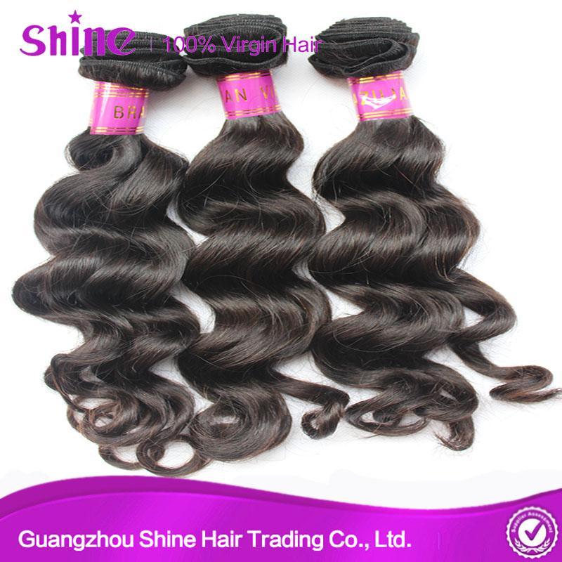 Brazilian Loose Wave Bundles Hair Weave Sale in Mozambique 4