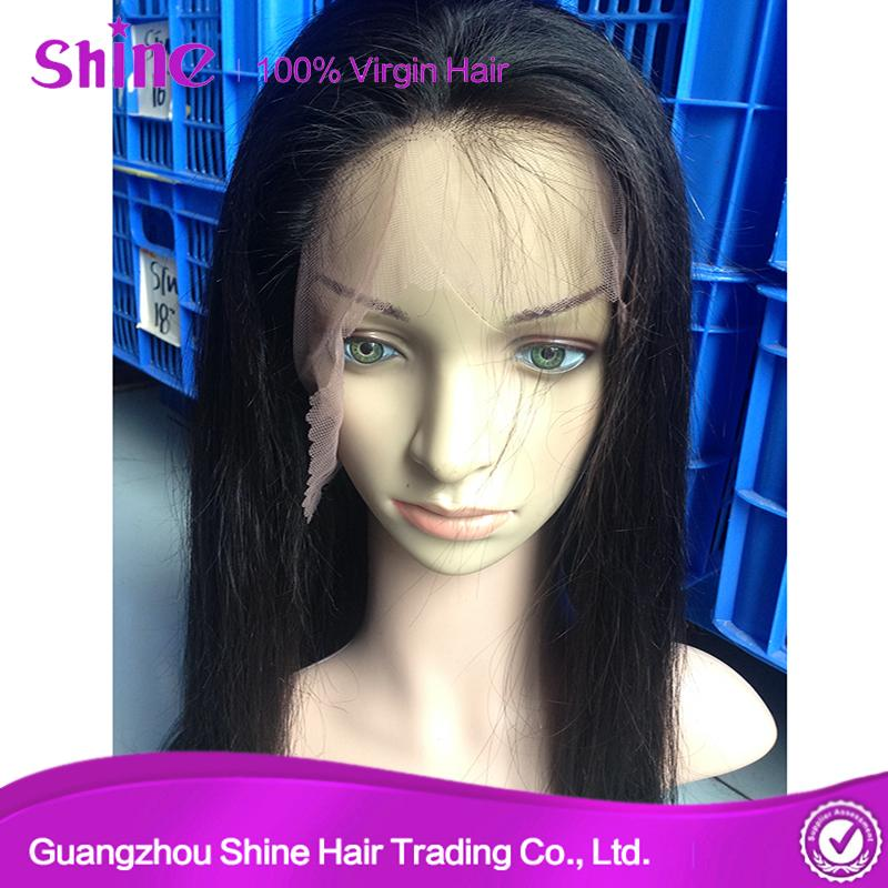 Raw Human Full Lace Wig Hair Extension 5