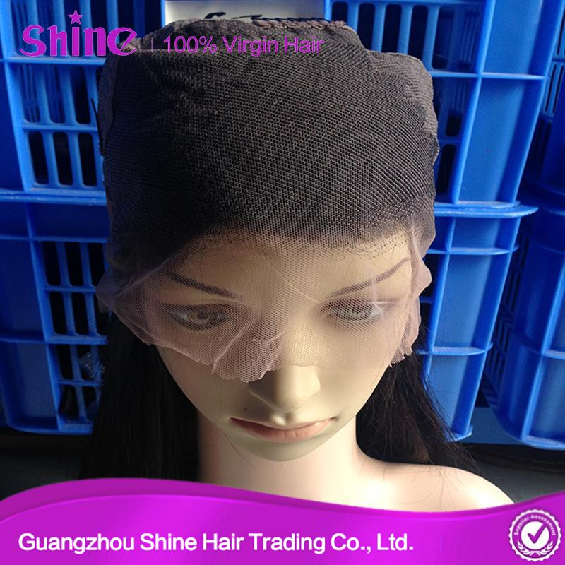 Raw Human Full Lace Wig Hair Extension 1