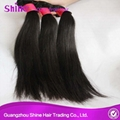 9A High Quality Silky Straight Human Hair Weave 2