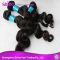 Wholesale Virgin Remy Malaysian Wavy Hair Weave Bundles 4