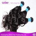 Wholesale Virgin Remy Malaysian Wavy Hair Weave Bundles 2