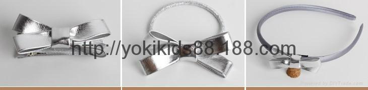 PU bow headdress hairclip headband 1