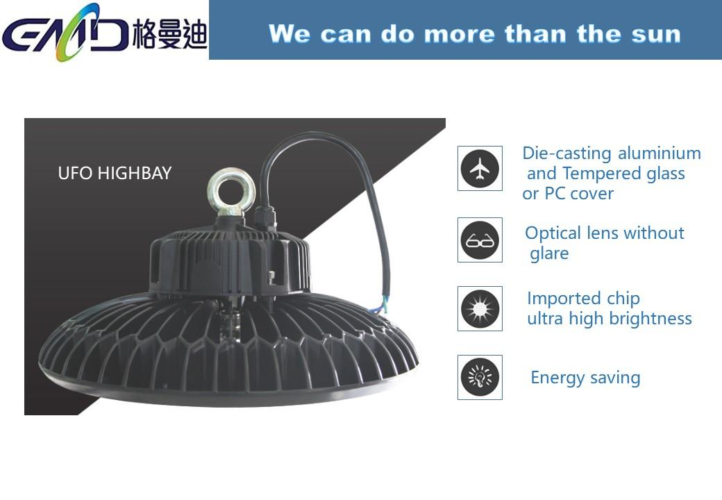 Led UFO highbay light 250w IP65 3
