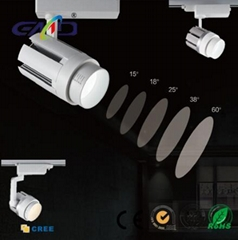 LED Focusing track light adjustable 30W