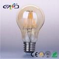 Led Filament A60 bulb 8w E27 Amber