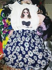 Lady Silk Dress Wholesale Used Clothing