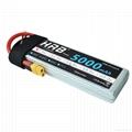 HRB RC Lipo Battery 7.4V 5000mah 50C-100C XT60 Plug (NO TIE) For RC DJI Drone FP