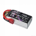 HRB 1300mAh 25C 3S 11.1V LiPo Battery Pack with T Plug & invite agents