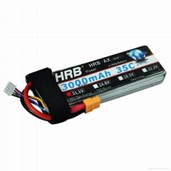 HRB 3S 11.1V 3000mAh 35C