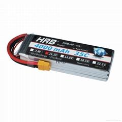 HRB RC Bateria 11.1V 4000mah 35C 3S Lipo Battery XT60 Plug & invite agents